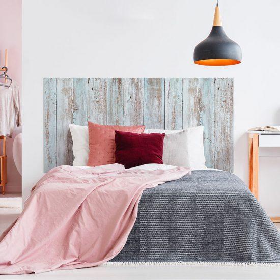 Cabecero de cama de vinilo Dilan cama de matrimonio