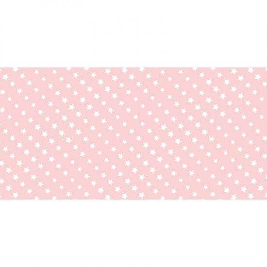 alfombra vinílica infantil Pink Stars Outlet 97x48