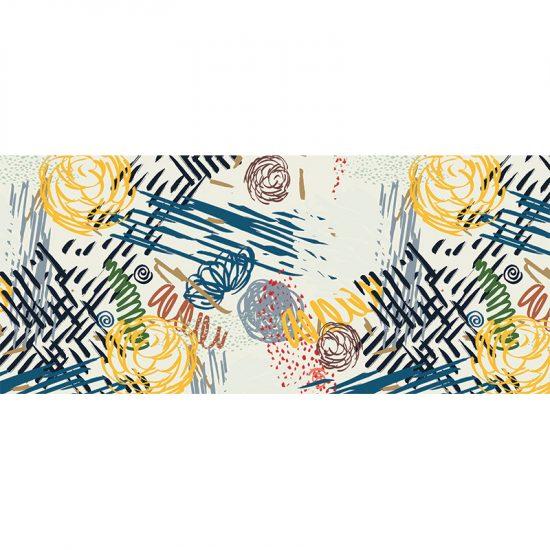 alfombra vinílica infantil Squiggle Outlet 150x65