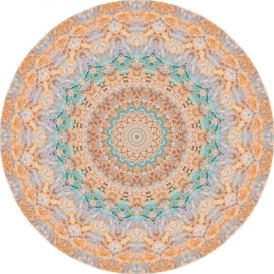 alfombra vinílica redonda Stele 60x60