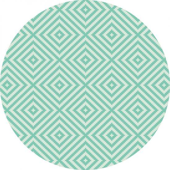 alfombra vinílica redonda Fusión 60x60