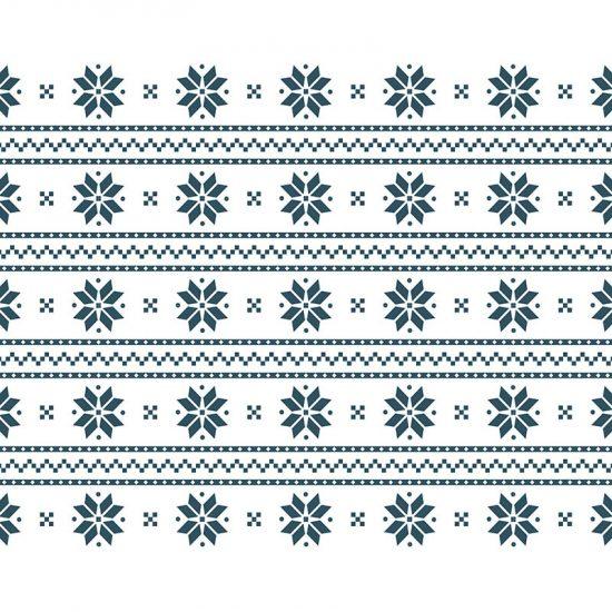 manteles individuales copos de nieve