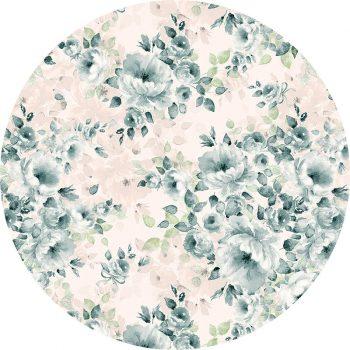alfombra vinílica redonda Duerna 60x60