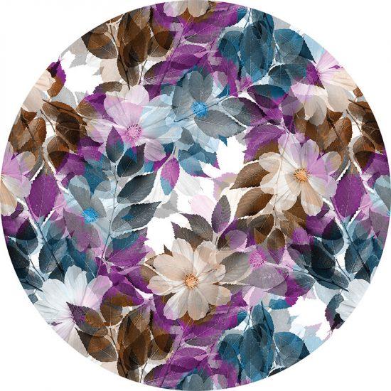alfombra vinílica redonda Romantic 60x60