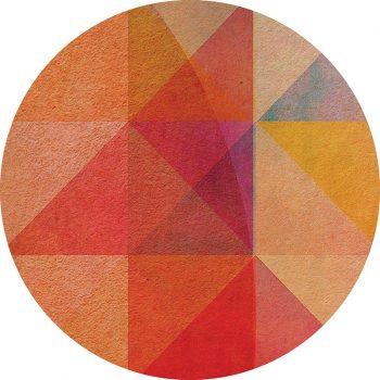 alfombra vinílica redonda Nina 95x95