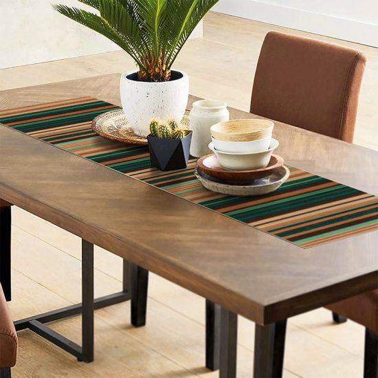 Camino de mesa Jade comedor