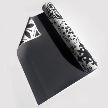 Detalle alfombra vinílica exterior