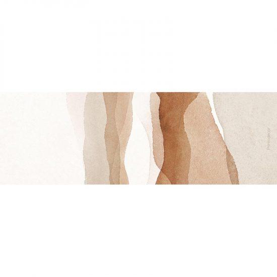 Yoga mat acuarela brown 180 x 60 cm