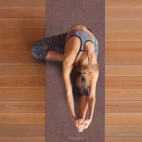 Yoga mat Strix lila clase de yoga