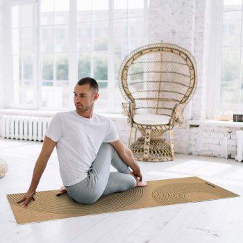Yoga mat Corcho clase de yoga