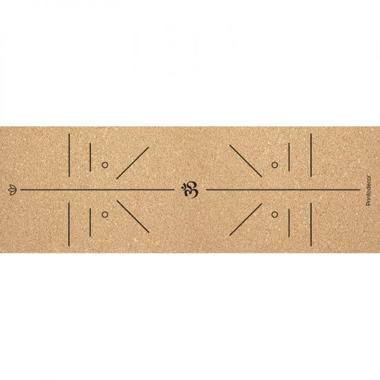 Yoga mat corcho position om 180 x 60 cm