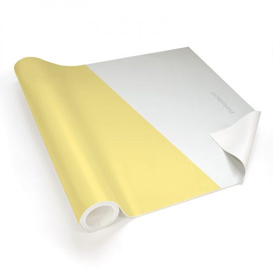 Yoga mat Triplex amarillo detalle material