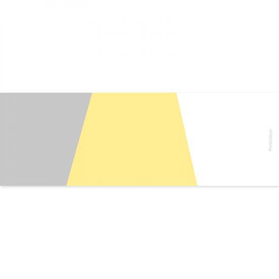 Yoga mat triplex amarillo 180 x 60 cm