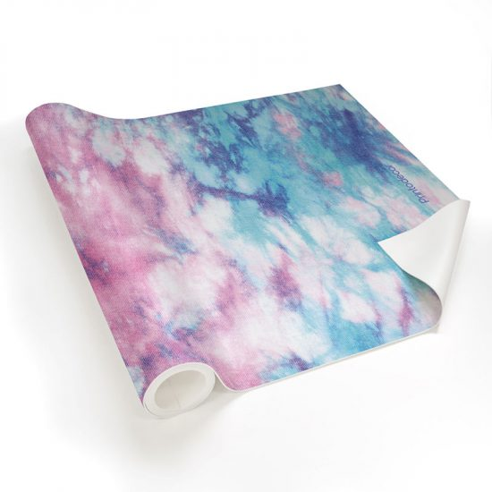 Yoga mat Tie dye detalle material