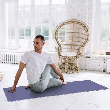 Yoga mat Lavanda clase de yoga