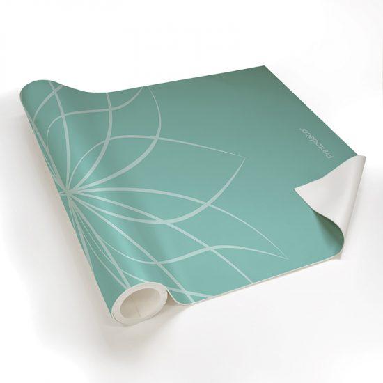 Yoga mat flor de loto detalle material