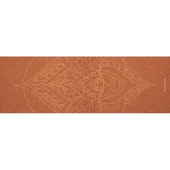 Yoga mat mandala orange 180 x 60 cm