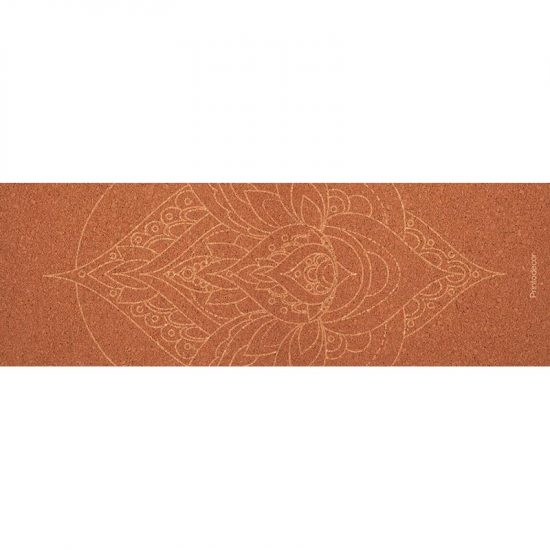 Yoga mat mandala orange 180 x 60 cm