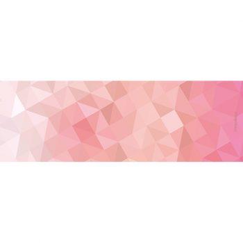 Yoga mat triangles pink 180 x 60 cm