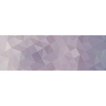 Yoga mat triangles purple 180 x 60 cm