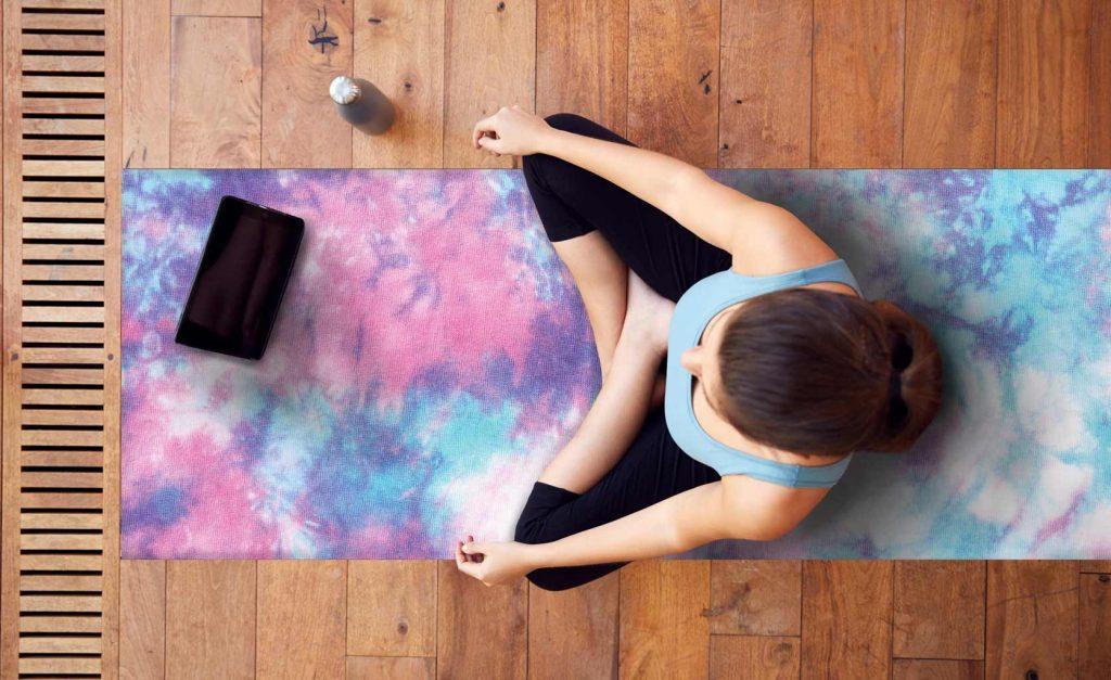 yoga mat y esterillas de yoga