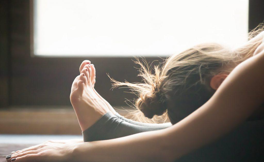 yoga mat postura