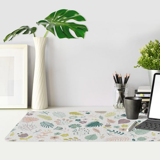 Protector de escritorio Happy Flowers mesa oficina