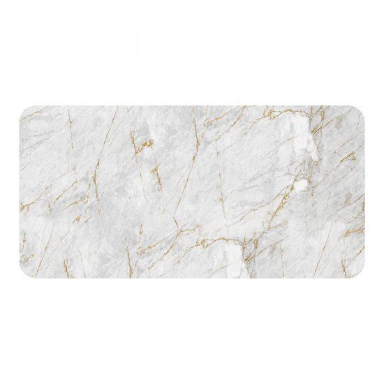 Protector de escritorio Grey Marble 80 x 40 cm