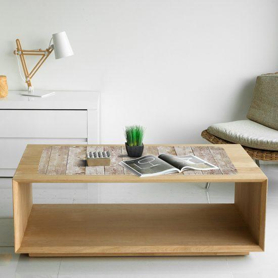 Protector de escritorio madera gastada mesa salón