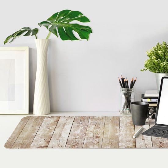 Protector de escritorio madera gastada mesa oficina