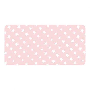 Protector de escritorio Pink stars 80 x 40 cm