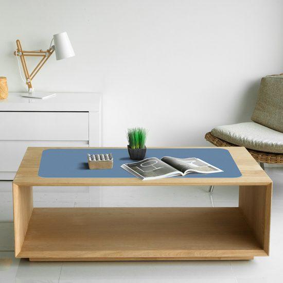 Protector de escritorio Azul mesa salón