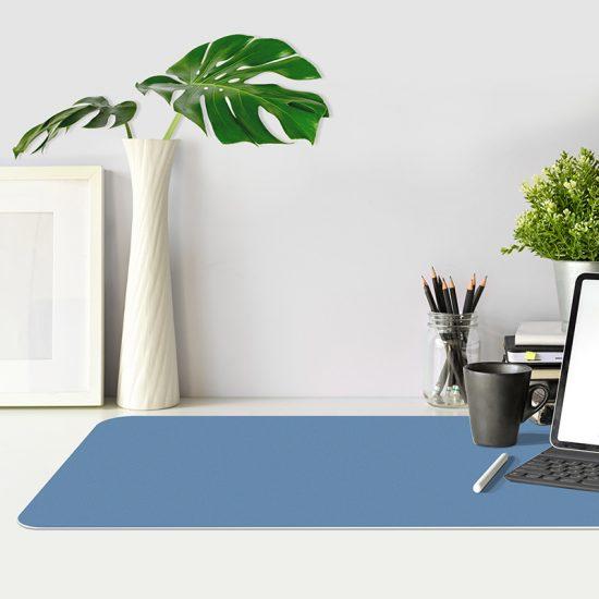 Protector de escritorio Azul mesa oficina