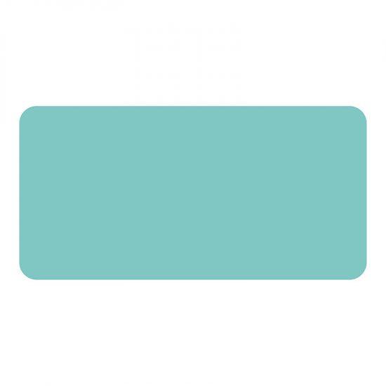 Protector de escritorio Azul turquesa 80 x 40 cm