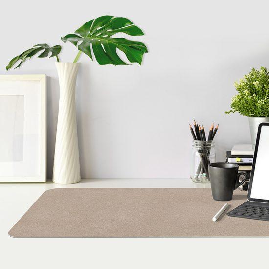 Protector de escritorio Cemento marrón mesa oficina