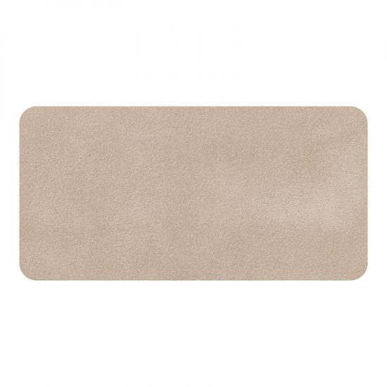 Protector de escritorio Cemento marrón 80 x 40 cm