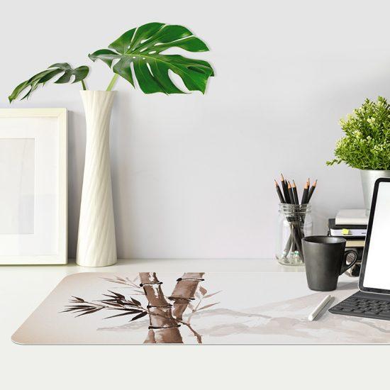 Protector de escritorio Bambú mesa oficina