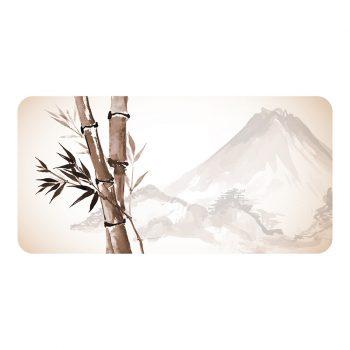 Protector de escritorio Bambú 80 x 40 cm
