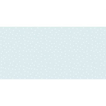 Alfombra vinílica infantil lluvia azul 97 x 48 cm