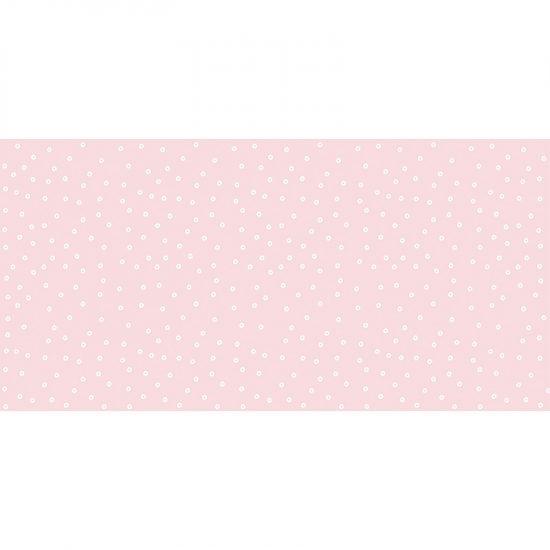 Alfombra vinílica infantil lluvia rosa 97 x 48 cm