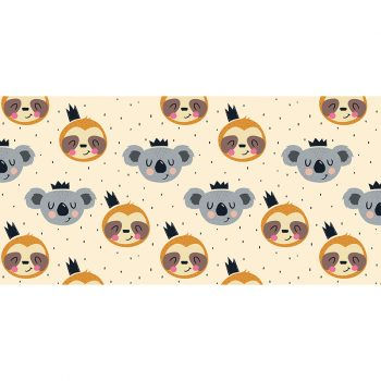 Alfombra vinílica infantil Happy Koala 97 x 48 cm