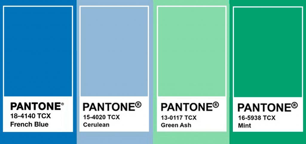 Colores tendencia decoración azules