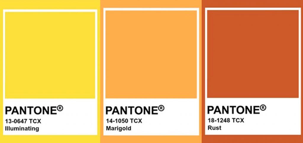 Colores pasteles tendencia decoración naranjas