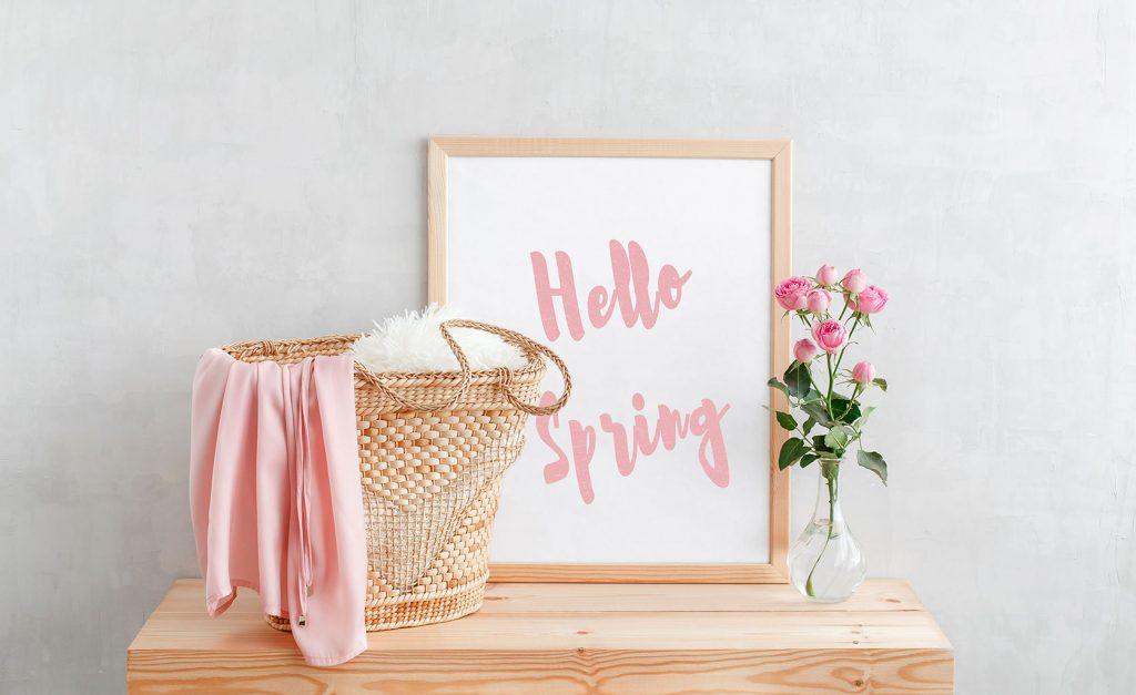 decoración primavera