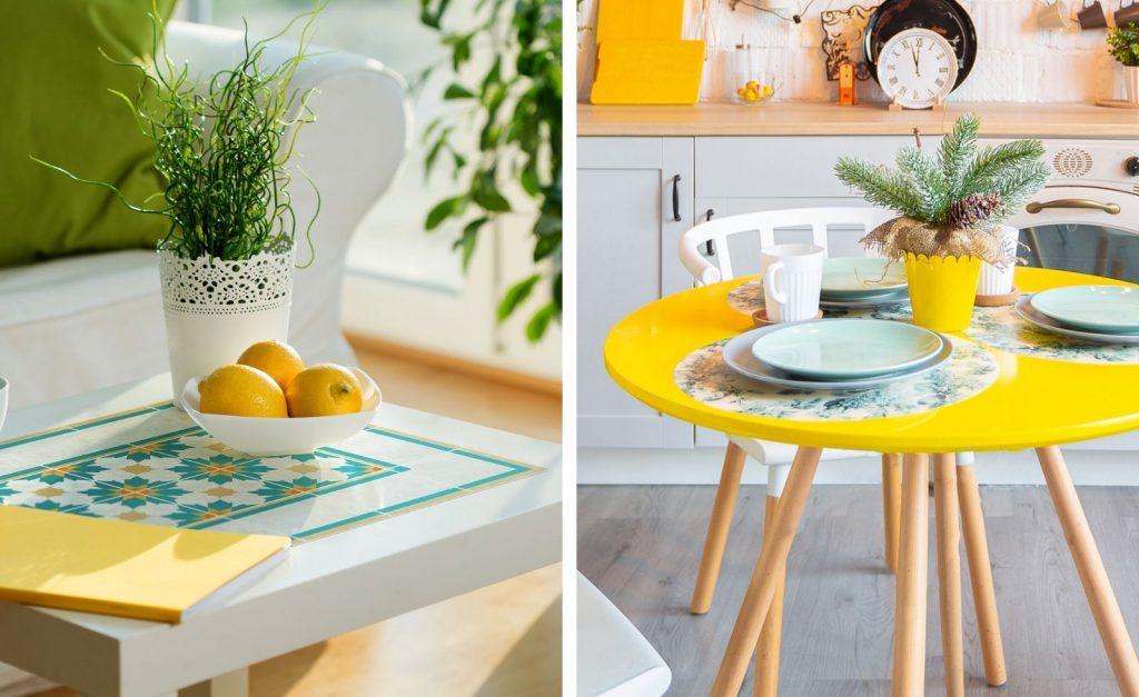 manteles individuales decoracion mesa