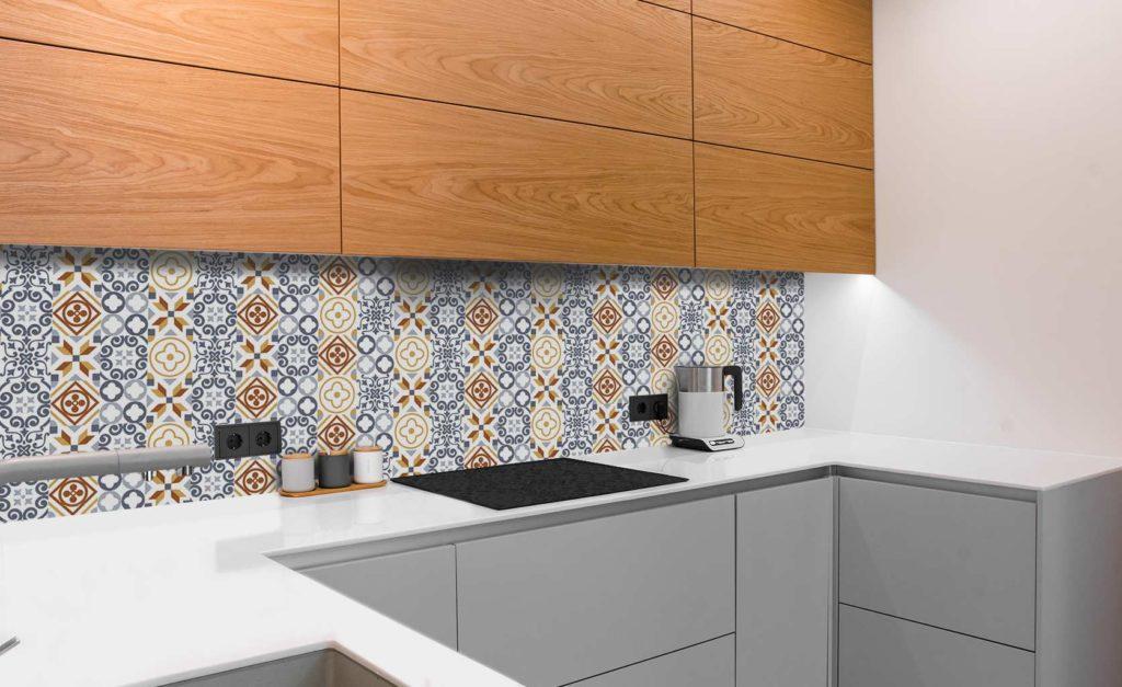 vinilos para cubrir los azulejos cocina