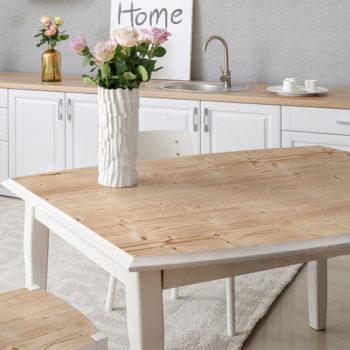 vinilo decorativo woody , mesa