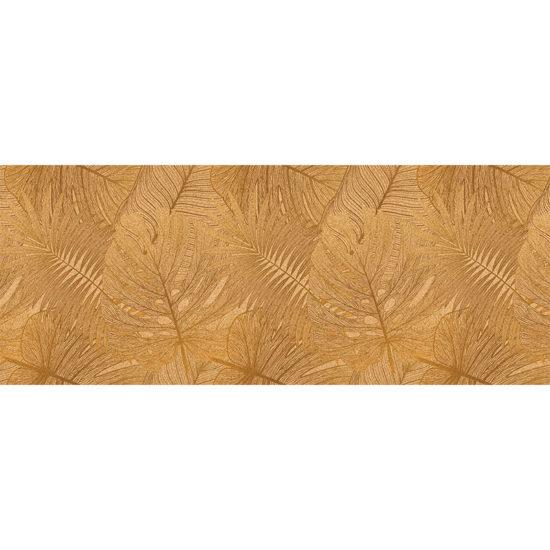 vinilo decorativo testo dorado 200x80