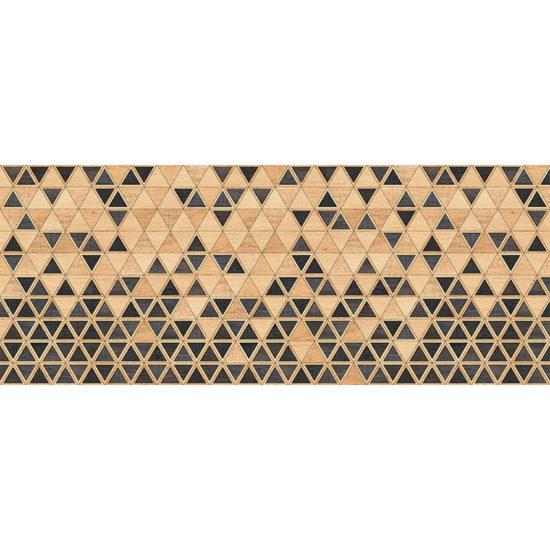 vinilo decorativo Triangles Wood 200x80 cm
