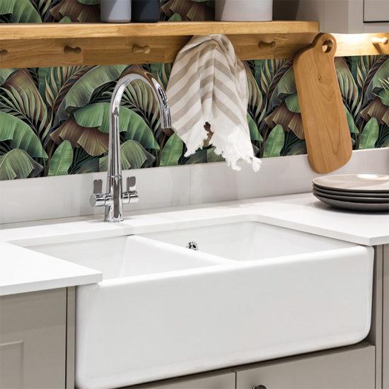 vinilo decorativo costro, baño